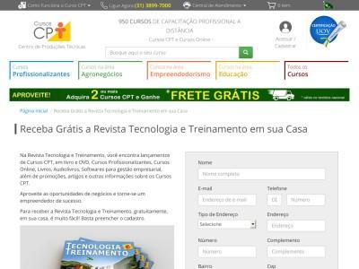 Grátis – Revista Tecnologia E Treinamento. Peça A Sua!