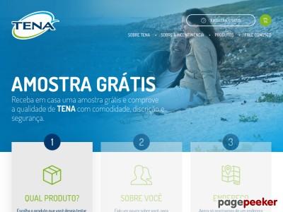 amostra Grátis .: Produtos Tena