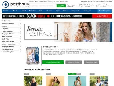 Revista De Moda Feminina Posthaus