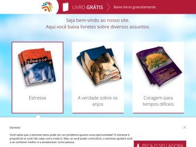 3 Exemplares De Livros Grátis
