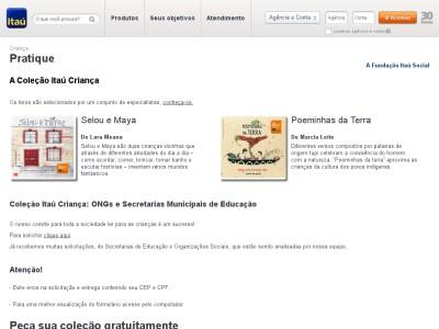 Coleção De Livros Infantis Campanha Leia Para Uma Criança Itaú