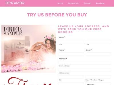 Perfume Dewamor Pink Floral