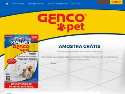 Limpador E Eliminador De Odores Genco Pet