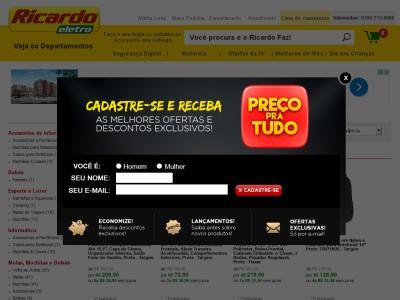 Ricardoeletro.com.br - Cupom De Desconto Ricardo Eletro Viagem