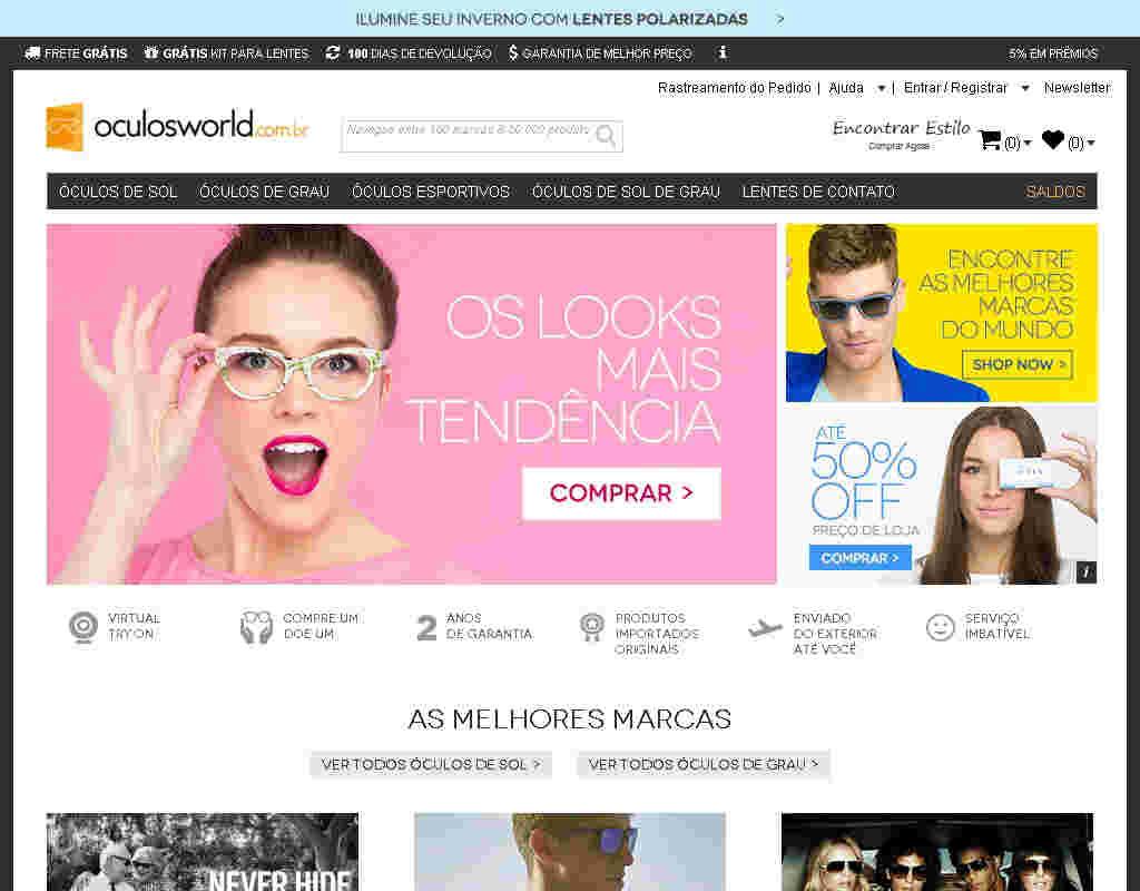 Oculosworld - Lentes De Grau Com 25% De Desconto