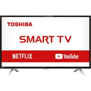 "Smart Tv Led 32"" Semp Toshiba Tcl 32l2800 Hd Com Conversor Integrado 3 Hdmi 2 Usb Wi-fi 60hz - Preta - R$ 770"