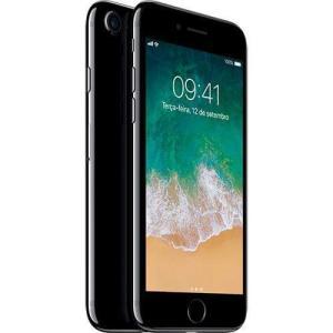 Iphone 7 256gb Preto Brilhante Desbloqueado Ios 10 Wi-fi + 4g Câmera 12mp - Apple Por R$ 2570