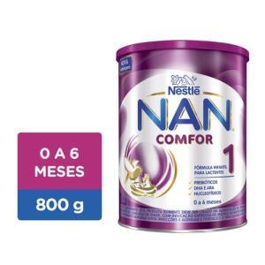 Fórmula Infantil Nan Comfor 1 Lata 800g - R$37