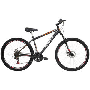 Mountain Bike South Bike Hunter Gt - Aro 29 - Freio A Disco Mecânico - 21 Marchas - R$637