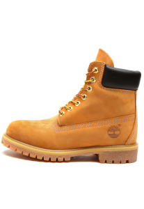 Bota Couro Timberland Yellow Boot 6in Premium Boot Wp Caramelo Por R$269