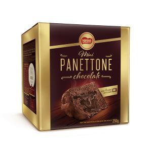 Mini Panettone Nestlé Chocolate/doce De Leite - De R$15,00 Por R$4,50