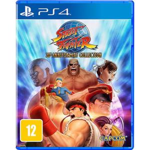 Game Street Fighter 30th Anniversary Collection - Ps4 - R$60 (com Ame, R$57)