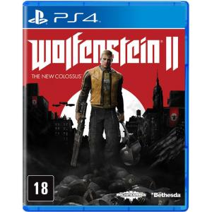 Game - Wolfenstein Ii: The New Colossus - Ps4 - R$36 (ou R$27 Com Ame)