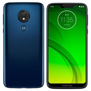 "Smartphone Motorola Moto G7 Power Azul Navy, Dual Chip, Tela 6,2"", 4g+wi-fi, Android Pie, 12mp, 32gb | R$1.159"