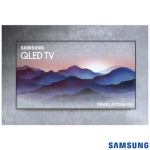 "Smart Tv 4k Samsung Qled 2018 Uhd 55"" - R$3576"