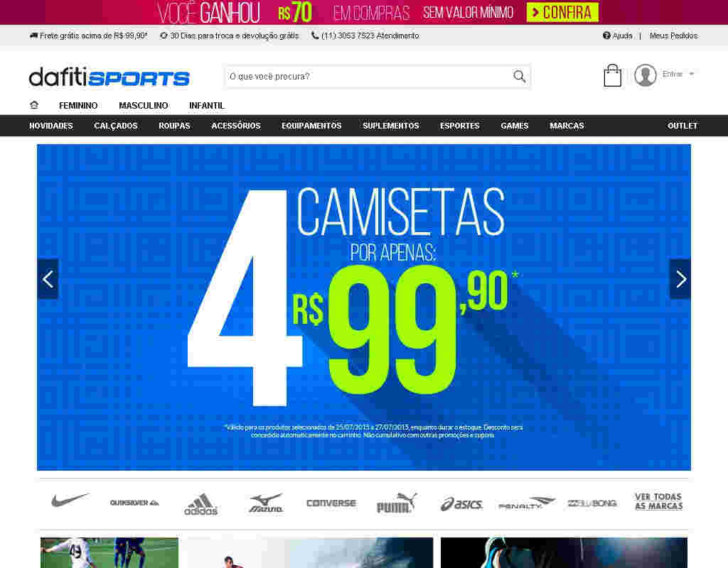 Dafiti Sports - 25% Off Tênis Femininos E Masculinos