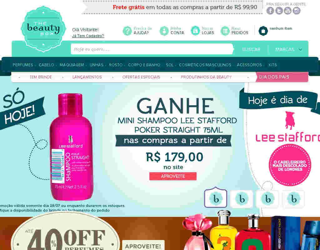 The Beauty Box - 10% Off: Perfumes Importados