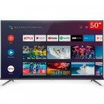 "Smart Tv Led 50"" Android Tv Tcl 50p8m 4k Uhd 