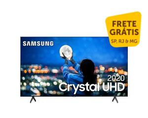 Smart Tv 58&Quot; Samsung Crystal Uhd 4k 2020 Un58tu7000 Borda Ultrafina Wi-Fi Hdmi