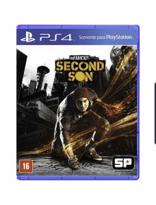[Primeira Compra] Jogo Infamous: Second Son - Ps4 | R$28