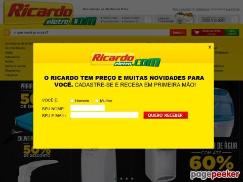 Ricardo Eletro - 5% Off Em Tv &#038 Vãdeo