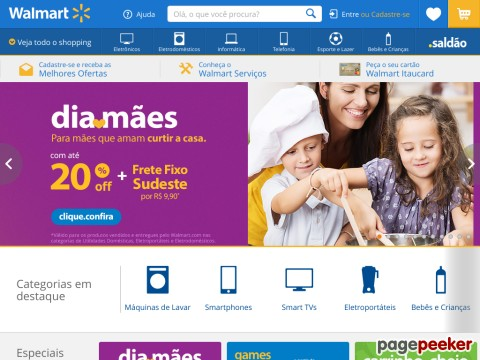 Walmart - 10% Off Em Iphone 6 E 6s