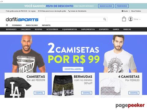 Dafiti Sports - R$40 Off Nas Compras Acima De R$220