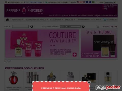 Perfume Emporium - Desconto De 15% Em Todo Site