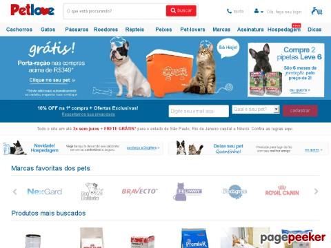 Pet Love - Suplementos: Desconto De 12% Na Primeira Compra