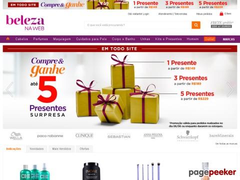 Beleza Na Web - R$30 Off Em Compras De Perfumes Acima De R$189