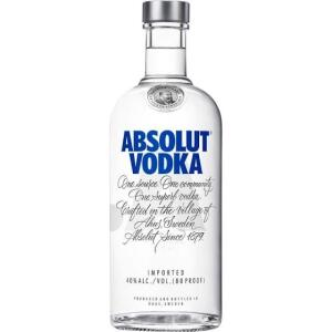 Absolut Vodka Regular 750ml | 2un | R$44 Cada