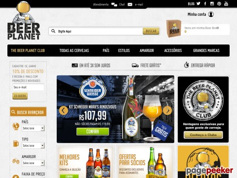 The Beer Planet - 10% Off Em Todo Site