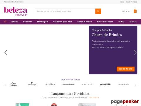 Beleza Na Web - R$50 Off Em Compras Acima De R$200 Em Perfumes