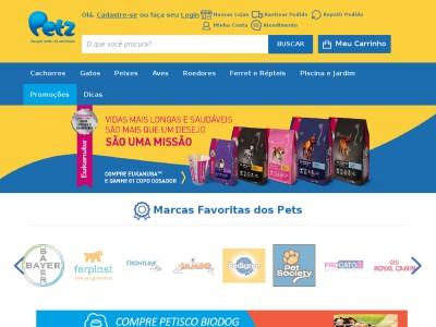 Petz - 5% Off Em Compras Acima De R$160