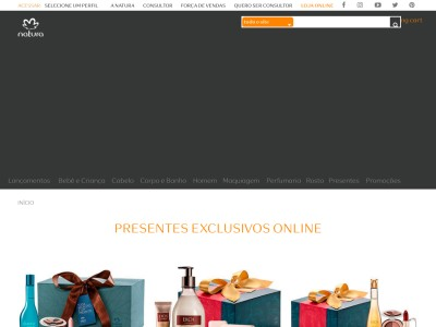 Natura - R$50 Off Em Compras Acima De R$99 Em Perfumes