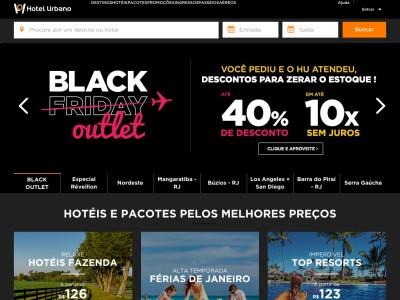 Hotel Urbano - 20% Off Em Hotéis Selecionados