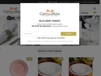 Carro De Mola - R$25 Off Em Compras Acima De R$100