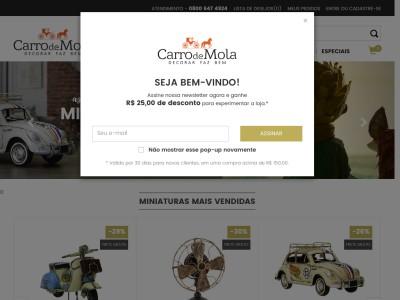 Carro De Mola - 10% Off Em Todo Site
