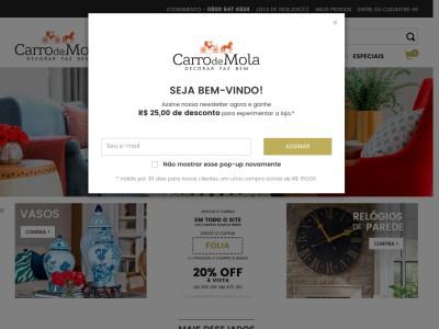 Carro De Mola - 5% Off Em Todo Site