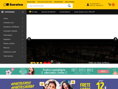 Saraiva - Livros Didáticos Com 7% De Desconto