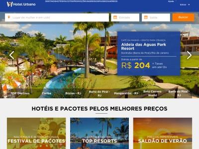 Hotel Urbano - 40% Off Em Hotéis Selecionados