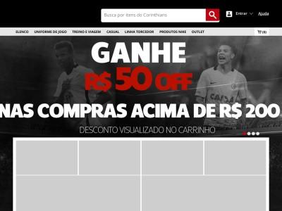 Shoptimão - R$50 Off Em Camisa Nike Corinthians Iii 2016