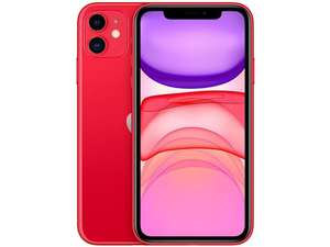 "Iphone 11 Apple 64gb (Product)Red 6,1"" - R$3941"