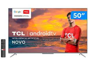 Smart Tv Tcl 50&Quot; 4k Uhd Led Android 50p715 | R$2136
