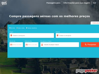 Gol - 20% Off Em Viagem De Ida E Volta Para Brasilia