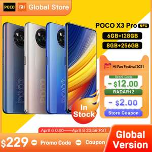 Smartphone Poco X3 Pro - 6gb+128gb | Global Version | R$1.358