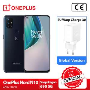 Smartphone Oneplus Nord N10 6gb 128gb | R$1.327