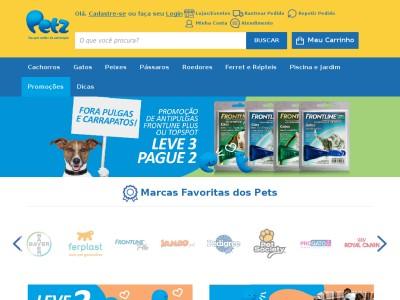 Petz - R$25 Off Em Compras Acima De R$300