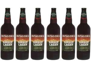 (App + Cliente Ouro) Cerveja Patagonia Amber Lager | 12 Unid 740ml Cada | R$77