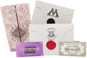Kit Harry Potter (Mapa Do Maroto &Amp; Cartas) | R$50